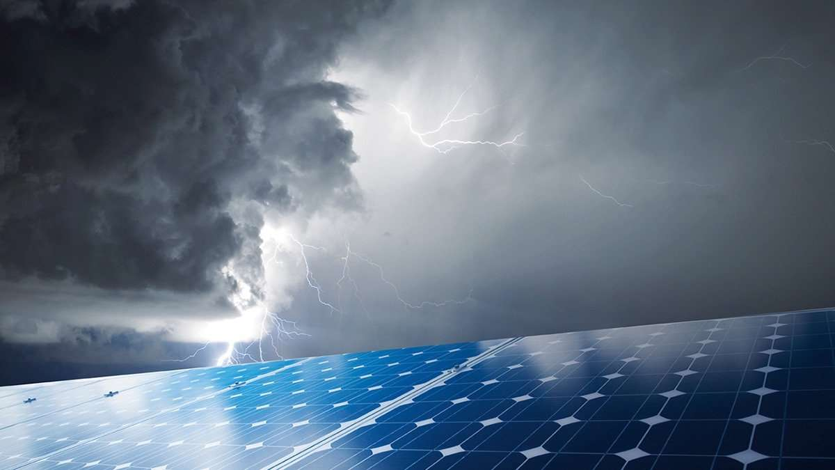 Lightning And Surge Protection For Pv Systems Therefore The Photovoltaic Panels Of A Solar Powered System Use